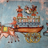 the 18th century kamangari wall paintings of kutch