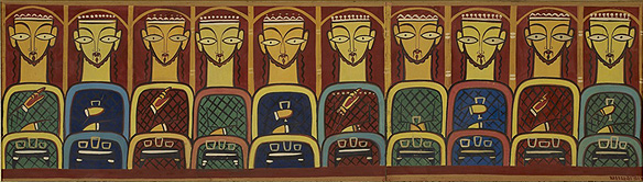jamini_roy_last_supper