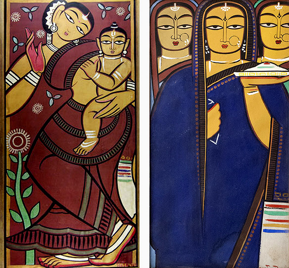 jamini_roy_mother_child_pujaris