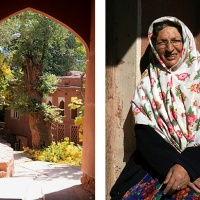 iran 9: nain, abyaneh, kashan—travelling through the desert