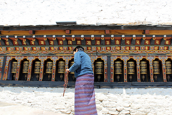 bhutan_prayerwheel