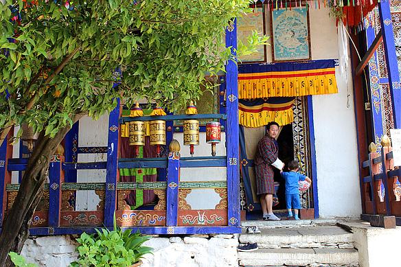 Kyichu Lakhang, Paro Valley