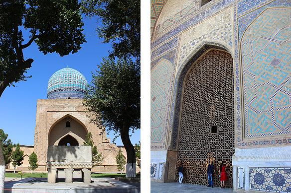 Bibi-Khanym Mosque, Samarkand