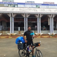 cycling solo from kanyakumari to kashmir