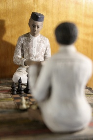 Local games: Buddhibal, also known as chess.
