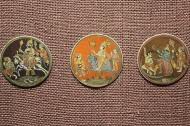 Playing cards: Ivory; Maharashtra; 18th Century.