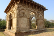 My personal favourite monument in Champaner—the cenotaph near Nagina Masjid.