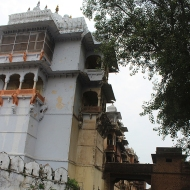 Kotah's Garh Palace retained a domestic ambience throughout its use despite its grandeur. This was in keeping with the bond the ruling family shared with its vassals and their religious bent which prescribed service within family.