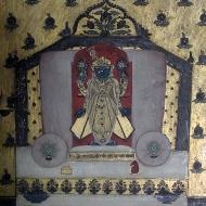 Krishna is one of the most popular themes in the Bundi-Kotah School of Miniature Painting.