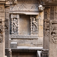 """Rani-ki-Vav literally meaning the """"Queen's Stepwell"""" was built just after 1064 AD by the dowager Queen Udayamati as a memorial to her late husband Bhimadeva I."""