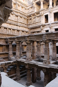 Rani-ki-Vav's colossal dimensions are held together by four pavilions supported with 226 pillars.