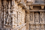 Rani-ki-Vav was Queen Udayamati's penance in line with prevailing traditions. Widows were expected to follow in the goddess Paravati's footsteps. The only difference was Parvati stood on one foot in the Himalayas to be reunited with Shiva. Medieval royalty had stepwells made.