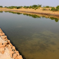 The Harappans of Lothal constructed the first ever known dock. A tidal dock measuring 218 metres long and 37 metres wide, it was built in 2350 BC, 4,400 years ago. For the next 400 years and more, it played a pivotal role in the economic prosperity of the town.