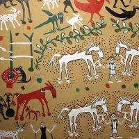 india travel shot: pithora painting, the art of ritual in tribal madhya pradesh