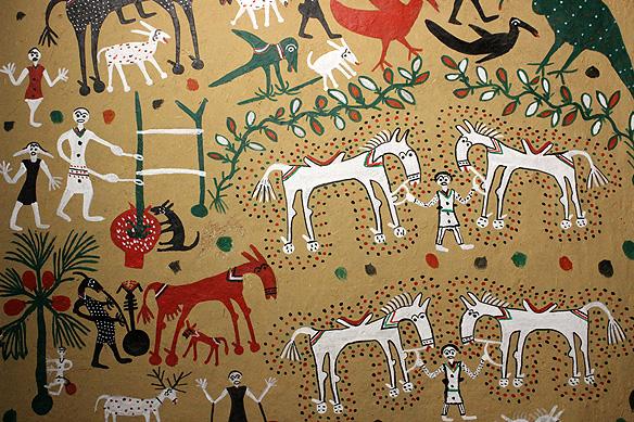 india travel shot: pithora painting, the art of ritual in tribal madhya  pradesh   rama arya's blog