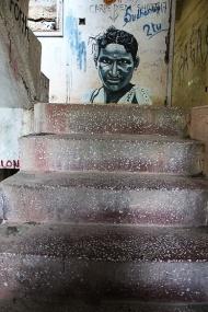 The flight of stairs inside Siddhi Bhavan reveals this. Yes, Carpe Diem indeed.