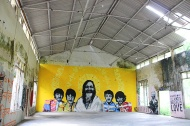 Highlight of the Ashram and ARTXPAN's brain child: Beatles Cathedral Gallery.