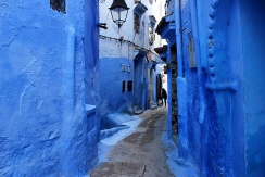 Winding paths wrap around the hillside in the Medina.