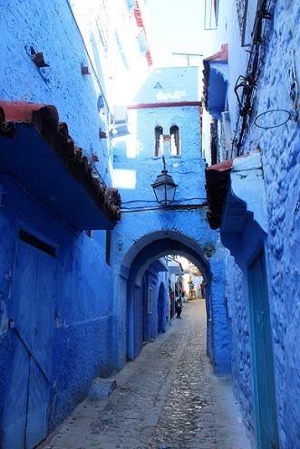 Until 1920 [when the Spanish troops took over Chefchaouen] the town was isolated and xenophobic. Christians were not allowed to enter or else faced death. This was Muslim and Jew land.