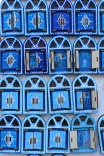"Fridge magnets, the peek-a-boo kind. Chefchaouen was originally known as Chaouen, meaning ""peaks."""