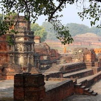 global travel shot: nalanda, the world's first residential international university