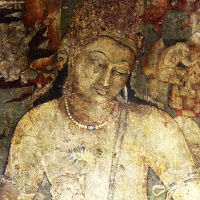 the painted, sculpted caves of ajanta