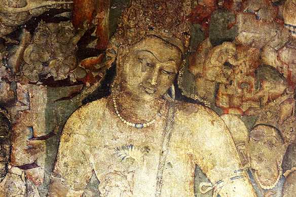 The Painted And Sculpted Caves Of Ajanta Rama Arya S Blog