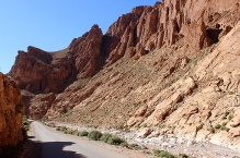 Todra Gorge is very popular with rock climbers.