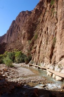 Todra Gorge: Handiwork of the Todra River.