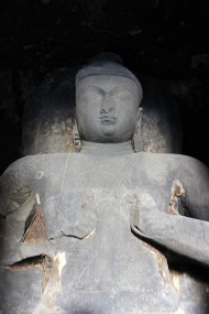 The Buddhist caves [numbered 1 to 12] date back to 630 – 700 AD.