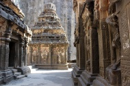 Shiva is the primary deity of the Kailasha Temple. However, the complex also contains numerous shrines dedicated to other gods and goddesses in the Hindu pantheon.