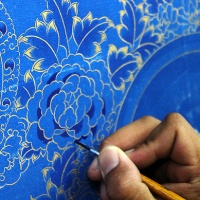 the ancient art of tibetan thangka painting in dharamshala