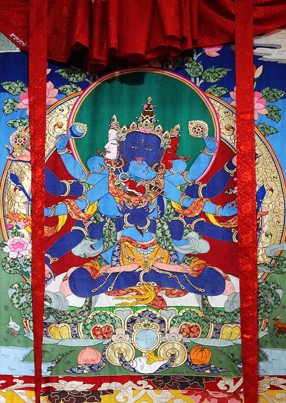 the ancient art of tibetan thangka painting in dharamshala