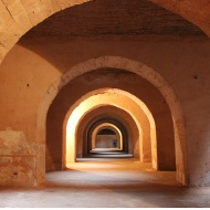 The underground Kara Prison in Meknes housed tens of thousands of Christian slaves during Sultan Moulay Ismail ibn Sharif's reign.