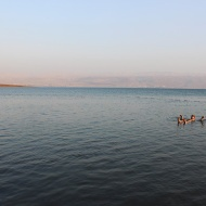 The Dead Sea is one of the most hyper-saline water bodies in the world at 33.7%. Result: You can float on its waters!