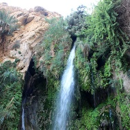 David Waterfall is named after King David in the Old Testament who is believed to have taken refuge here when escaping from his future father-in-law King Saul.