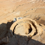 Herod's three-storey, 30-metre deep Northern Palace was a masterpiece in Herodian architecture.