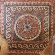 Mosaic, Western Palace.