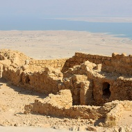 Herod's innovative water collection system and masses of stored food ensured the Sicarii community could live in absolute isolation for 7 whole years on top of the mesa.